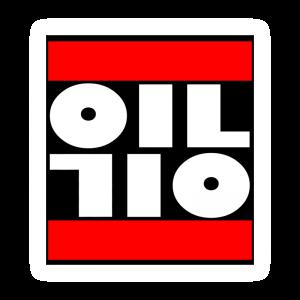 oil sticker