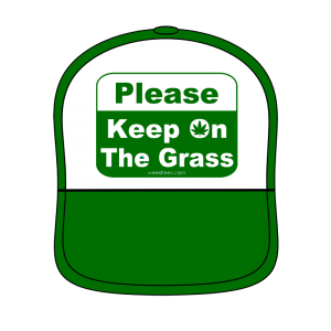Keep on the Grass Hat