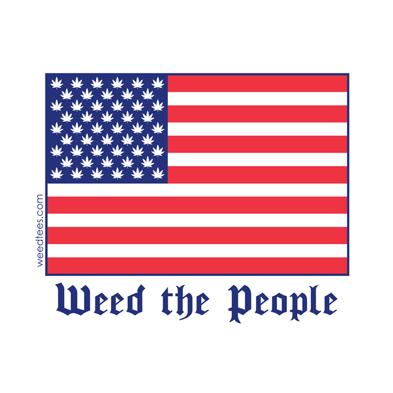 Weed the People Sticker