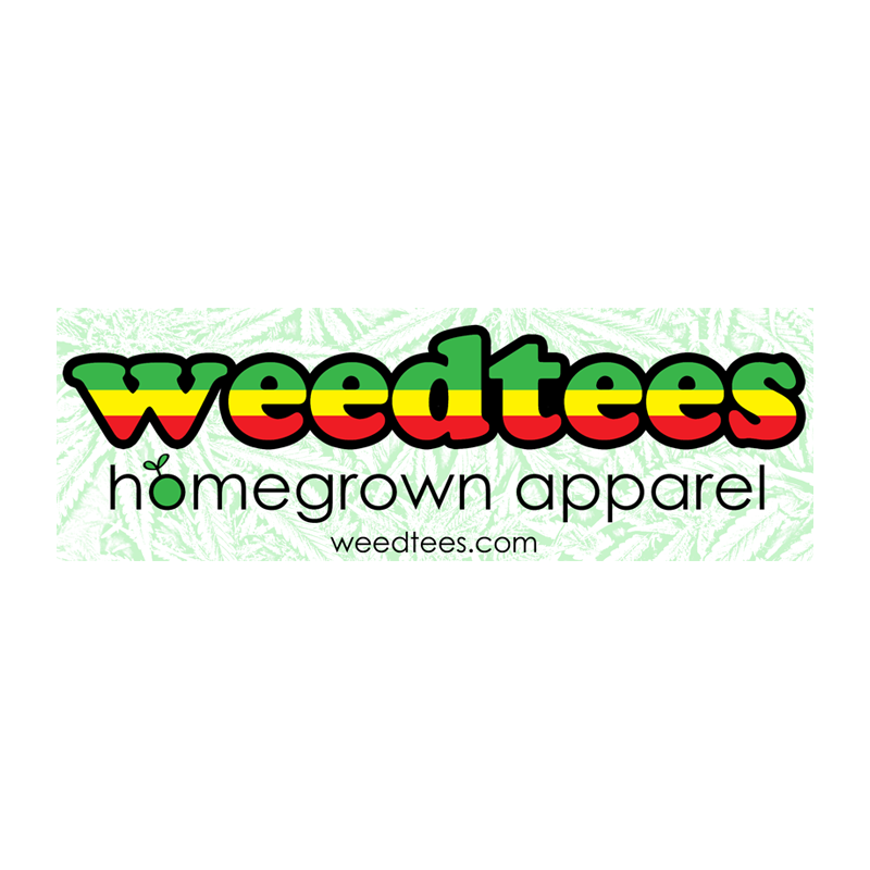 Weed Tees Sticker