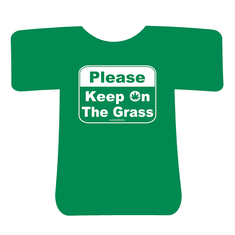 Please Keep on the Grass T-Shirt